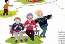 Knit illustrations