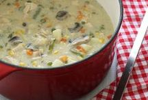 soup, stews and chowders