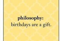 birthdays are the best / join us as we celebrate 19 years of helping women look, live and feel their very best. / by philosophy