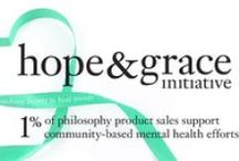 hope and grace / introducing the hope & grace initiative, an unprecedented and unending commitment by philosophy to support mental health and wellbeing, one of the greatest challenges affecting women around the globe today. / by philosophy