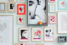 Wall Inspirations... / Gallery Wall Ideas for my home or office. / by Sara Turk