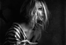 Monochrome.... / Beautiful black and white portraits / by Sara Turk