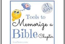 31 Days to Memorize a Bible Chapter / Memorizing scripture isn't just for kids. Adults need it, too.
