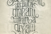 Typography, Fonts & Lettering / by MarthaO