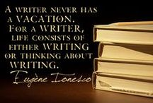 Writing Wisdom / Whether it is teaching writing, writing on my blog, or being inspired by ideas.... it is always all about writing.
