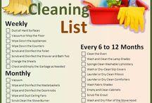 cleaning / by Lisa Peel