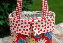 Sewing / Sewing purses and bags. / by Carol Anderson