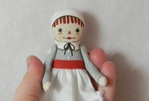 Dolls MADE by the Hand / When a doll is created by the hand, the creator's energy is sewn in place.