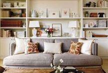Living Rooms -Cozy / I love a warm and welcoming living room. It's the center of the home and should feel like the place everyone wants to relax and be together, not stiff and uninviting.