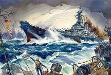 US Fast Battleships / by Brian Lane Herder