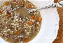 Cookbook: Soups / Nothing like a savory soup to warm a cold evening.