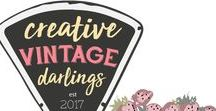 Creative Vintage Darlings / Pretty things from days gone by. Put your eye candy here! This is a group board for the Creative Vintage Darlings community admins. Check out the group here! https://www.facebook.com/groups/280976392398831/