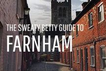 The Sweaty Betty Guide to Farnham / Sweaty Betty is coming to Farnham at the end of September. Find out about the best places to workout and hang out in the heart of Surrey...
