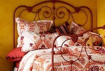 Yellow and Red Decor / Rooms that contain yellow, mustard and/or red décor. / by Linda Smith