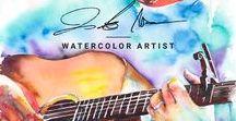 Watercolor Paintings / Watercolor artwork by Jamie Hansen