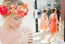 Coral Weddings / by The Perfect Palette