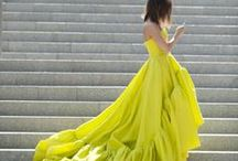 Chartreuse Weddings / by The Perfect Palette