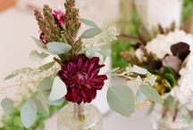 Posies ~ The New Centerpieces / Posies are taking over the wedding flower world. Bud vases, 1-3 stemmed pretties ~ all which might be clustered into a central centerpiece arrangement. / by Style Me Pretty