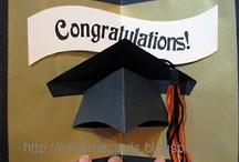 CARDS (Graduation) / Cards & embellishment ideas