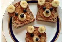 Kid-Friendly Recipes / This board is all about letting kids play with their food! Even the pickiest eaters will enjoy the meal and snack ideas on our Kid-Friendly Food board. You'll find easy recipes for making healthy versions of kids' favorite foods, themed food ideas for fun celebrations like Thanksgiving and the Super Bowl and ways to create animal- and character-shaped creations!