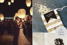 :: Black + Gold Weddings :: / by The Perfect Palette