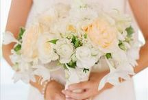 wedding personal flowers / flowers for the bride, groom and wedding party