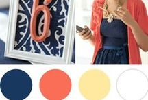 wedding colors / color palettes for weddings