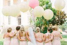 Pink + Yellow Weddings