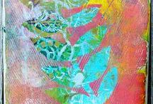 Monoprinting - Printmaking / by Terri Stegmiller