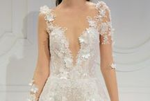 Bridal Fashion Week / For the bride who aims to color outside the lines.