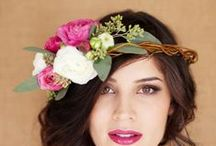 Flower Crowns / a collection of some of our favorite flower crowns for just about any wedding, event or party!