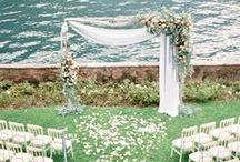 Wedding Ceremony Ideas / Whether you're looking for indoor ceremony ideas or outdoor wedding ceremony ideas, it all starts here!