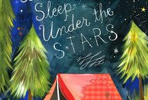 Under the stars ⭐️ / Camping / by Diane Lessenberry