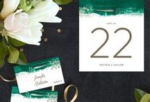 Green Wedding Inspiration / Celebrating Pantone's Colour of the Year 2017, we share green wedding inspiration and ideas