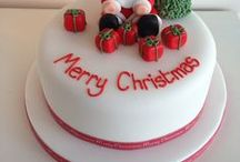 Christmas Cakes / Christmas cakes, cupcake and cookie ideas  for the festive parties