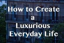 Luxury LIving / Just to take a glimpse of how the luxury living is, or what the luxury feels like. We can feel you through images itself.