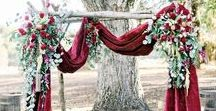 Outdoor Luxury Wedding Inspiration / Ideas for an outdoor wedding with a luxury feel