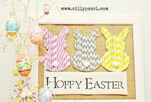 Holiday--Easter / Fun Easter ideas! Easter crafts -- Easter home decor -- Easter celebration ideas