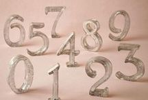Table Numbers /