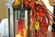 Fabulous fall...my favorite time of year!! / My favorite season. It's so beautiful and I love all the different smells.  / by Kim Gwyn