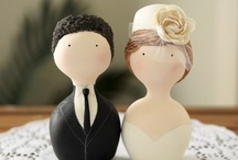 Cake Toppers / Piney River Ranch | Vail, Colorado www.pineyriverranch.com / by Brittany Bouse