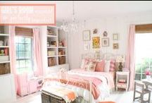 Beautiful Rooms-Girl Bedrooms / Lovely bedrooms for girls / by Kara Cook (Creations by Kara)