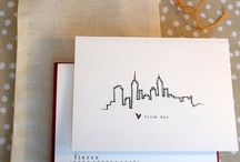 cards, stationary, paper goods etc. / by Kelly Williams