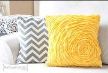 Pillows / Beautiful pillows to make
