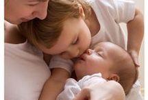 Mamás, papás, niñas y niños