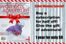 Shameless self-promotion / by Women's Adventure Magazine