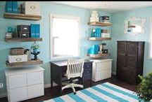 Beautiful Rooms--Craft Rooms  / Pretty and functional craft rooms