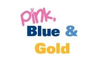 PINK, Blue & Gold