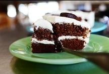 Recipes--Cake & Cupcakes / birthday cakes -- cupcake recipes -- sheet cake recipes -- layer cake recipes