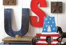 PATRIOTic / Americana, American Flag, Red-White-Blue